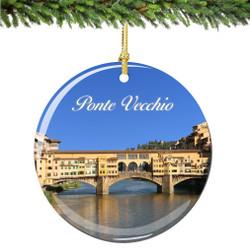 Florence Ponte Vecchio Christmas Ornament