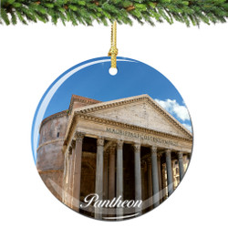 Roman Pantheon Christmas Ornament