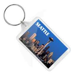 Seattle Space Needle Keychain