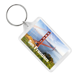 San Francisco Golden Gate Bridge Keychain
