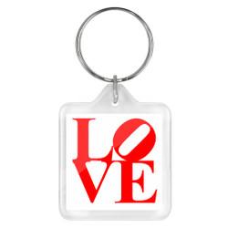 Philadelphia LOVE Keychain