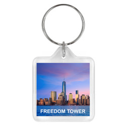 Freedom Tower Keychain