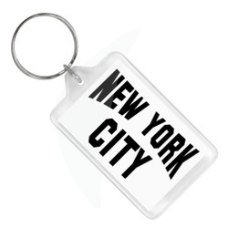 New York City Keychain John Lennon Design