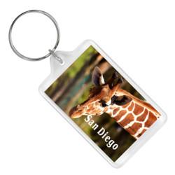 San Diego Zoo Keychain