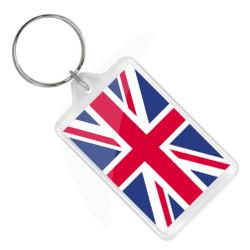 London Union Jack Keychain