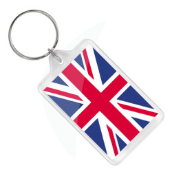London Union Jack Keychain