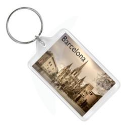 Spain Barcelona Keychain