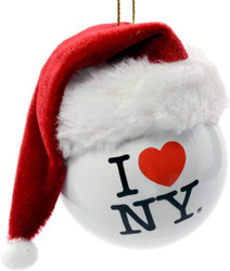 I Love NY Christmas Ornament