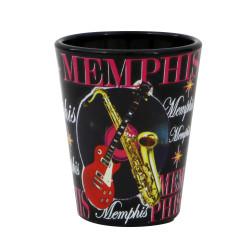 Memphis Shot Glass