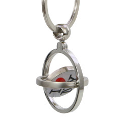 Metal I Love NY Key Chain Spinner