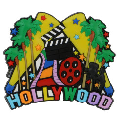 Hollywood Magnet 3D Rubber
