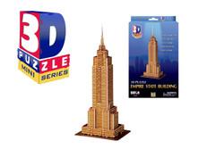 Mini 3D Empire State Building Puzzle