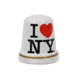 I Love NY Thimble