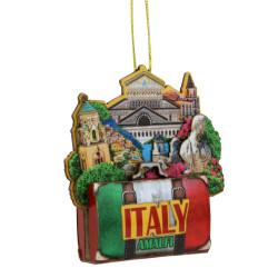 3D Wooden Amalfi Ornament