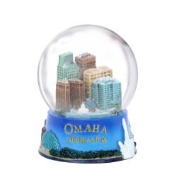 Omaha Nebraska Snow Globe 3.5 Inches