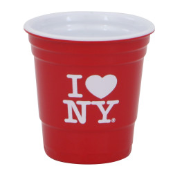 I Love NY Shot Glass, Party Cup 2 ounce size