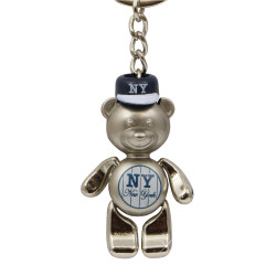 NY Yankees Key Chain Metal