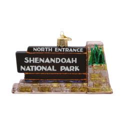 Shenandoah National Park Glass Ornament
