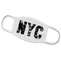 NYC Face Mask Distressed Design