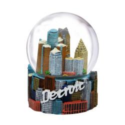 Detroit Snow Globe