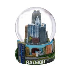 Raleigh Snow Globe