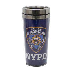 NYPD Travel Mug with Shield