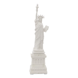 White Statue of Liberty Statue