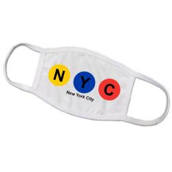 NYC Subway Line Face Mask