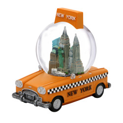 New York City Taxi Snow Globe