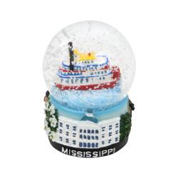 Mississippi Snow Globe