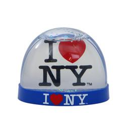 I Love NY Snow Globe, Plastic