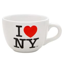 I Love NY Soup Mug in White