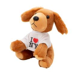 Plush I Love NY Dog Toy