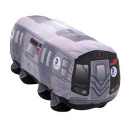 NYC Subway Car Plush Toy