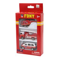 FDNY Toy Car Set