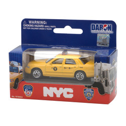 NYC Taxi toy.