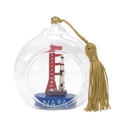 NASA Christmas Ornament Glass Ball