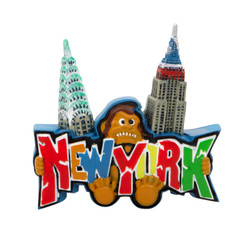 New York City King Kong Magnet