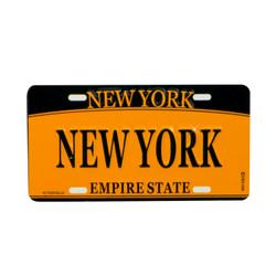 New York License Plate Magnet