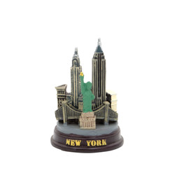 Mini NYC Skyline Model