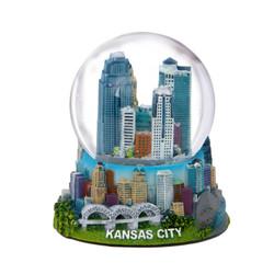 Kansas City Snow Globe