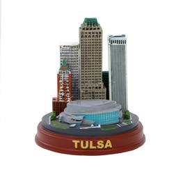 Tulsa Skyline Model Souvenir