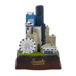 Seattle Skyline Replica Statue