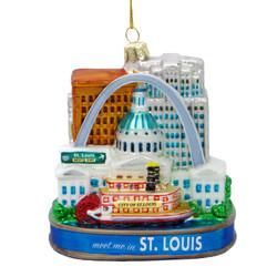 St. Louis Christmas Ornament