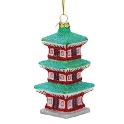 Pagoda Christmas Ornament