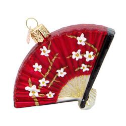 Folding Fan Christmas Ornament