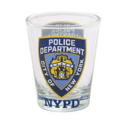 NYPD Shot Glass Police Department of New York City