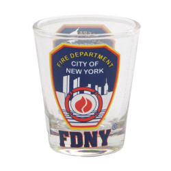 FDNY Shot Glass Fire Department of New York City