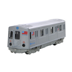 NYC Subway Car Metro Train
