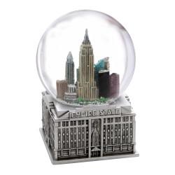 Musical New York City Snow Globe 5.5 Inches